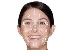 نقشه پوست صورت، نشان دهنده سلامت شما
